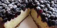 Sernik Jagodowy ( Blueberry Cheesecake)