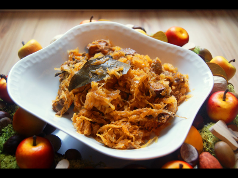 "Homemade ""Hunter stew"" (""Bigos"") - Gluten Free"